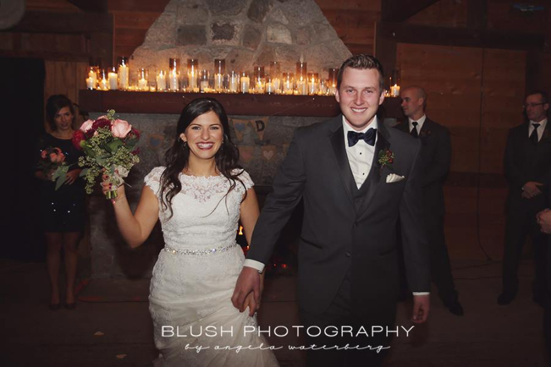 Danica and Derek New Years Eve Wedding at the YMCA Langdale