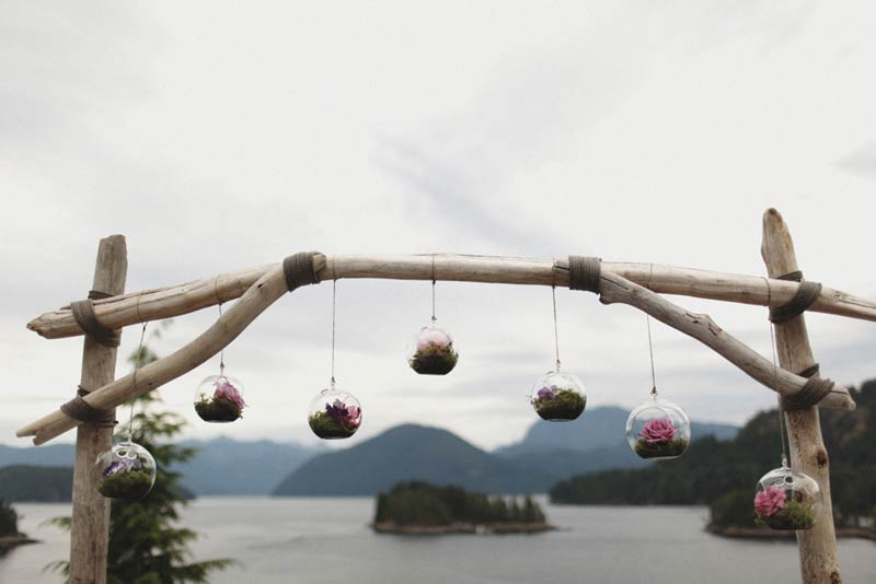 Coastal Weddings Driftwood Arch