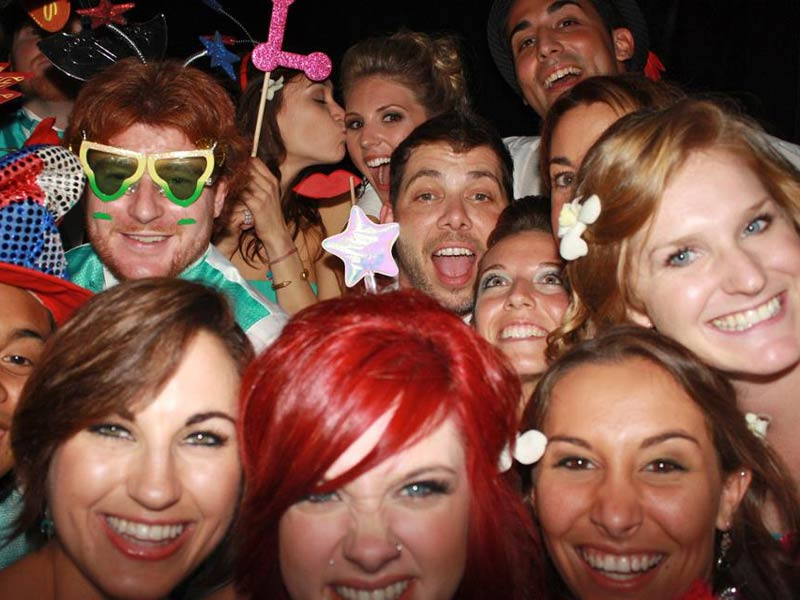 Photo Booth Trends at Weddings
