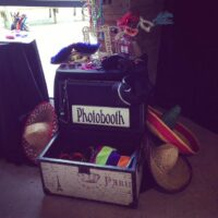 Prop box for your guests to get creative