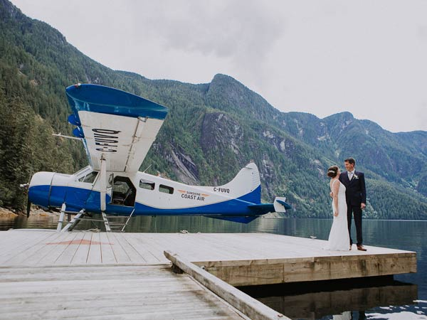 Adventure weddings - float plane packages
