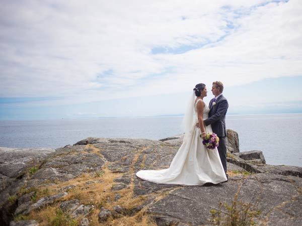 Gallery of real weddings on the BC Sunshine Coast