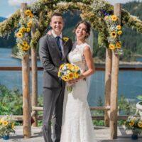 Lindsay & Chris Wedding - West Coast Wilderness Lodge, Egmont, BC