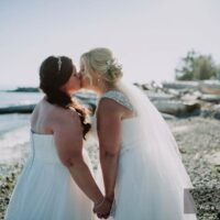 Nicole and Katie Wedding - Sunshine Coast BC