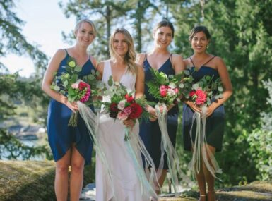 Brides bouquets - Sunshine Coast Wedding florist