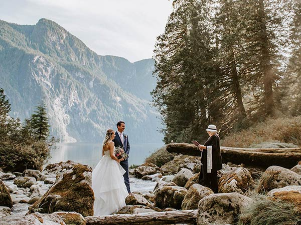 An Intimate West Coast Elopement